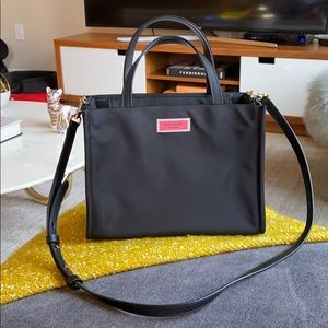 Kate Spade Black Bag with removable strap